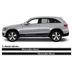 Mercedes stripes