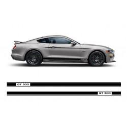 GT 500 stripes
