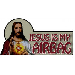 Jesus is my airbag