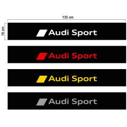 Audi sport sun visor