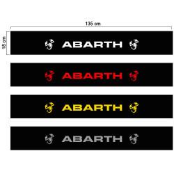 Abarth sun visor