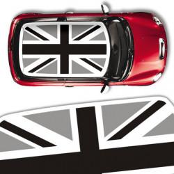 Mini roof Union Jack black...