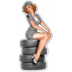 Pin-up pneu