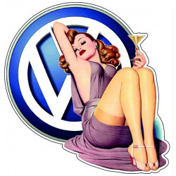 VW Pin-up