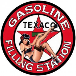 Pin-up Texaco