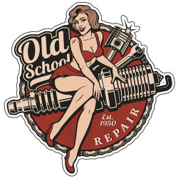 Pin-up old school