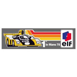 RENAULT ELF 1st LE MANS 78