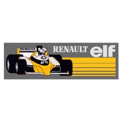 RENAULT ELF F1 sticker