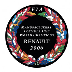Sticker FIA World Champion...