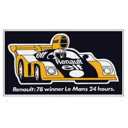 Sticker Renault 78 Winner...