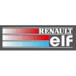 RENAULT ELF vitre arrière