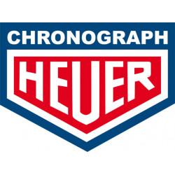 Logo Heuer bleu & rouge