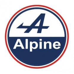 Alpine logo round