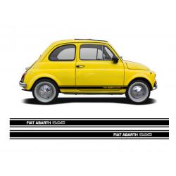 Fiat Abarth 595 stripes