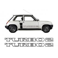 Stickers Turbo 2 latéraux