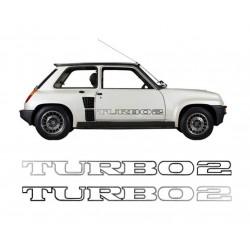 Stickers Turbo 2 latéraux...