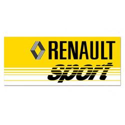 RENAULT SPORT rear window