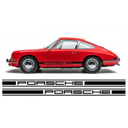 Porsche stripes