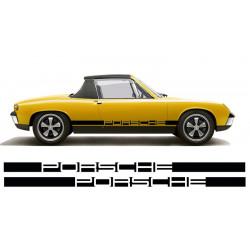 Bandes latérales Porsche...